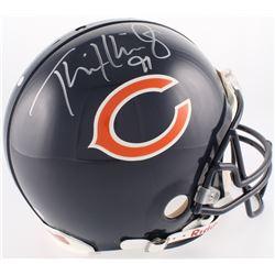 Tommie Harris Signed Bears Authentic On-Field Full-Size Helmet (Schwartz Hologram)