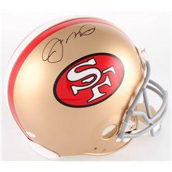 Joe Montana Signed 49ers Authentic On-Field Full-Size Helmet (JSA COA)