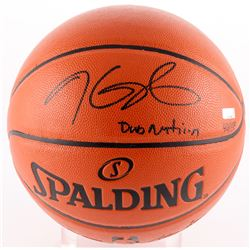 "Kevin Durant Signed LE NBA Game Ball Series Basketball Inscribed ""Dub Nation"" (Panini COA)"