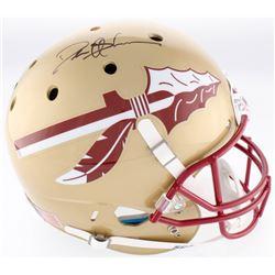 Deion Sanders Signed Florida State Seminoles Full-Size Helmet (JSA COA)