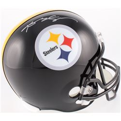 Antonio Brown Signed Steelers Full-Size Helmet (JSA COA)