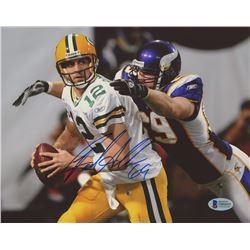 Jared Allen Signed Vikings 8x10 Photo (Beckett COA)