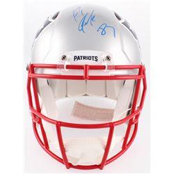 Rob Gronkowski Signed Patriots Full-Size Authentic On-Field Speed Helmet (Radtke COA)