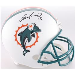 Dan Marino Signed Dolphins Full-Size Throwback Helmet (Radtke COA)