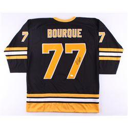 Ray Bourque Signed Bruins Jersey (JSA COA)
