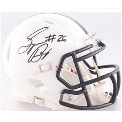 Saquon Barkley Signed Penn State Nittany Lions Speed Mini-Helmet (JSA COA)