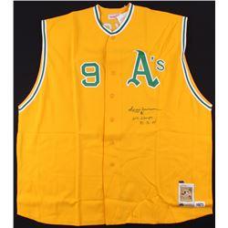 "Reggie Jackson Signed Athletics Jersey Inscribed ""W.S. Chapms""  ""72-72-74"" (TriStar Hologram)"