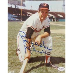 Brooks Robinson Signed Orioles 8x10 Photo (JSA COA)