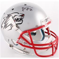 Brian Urlacher Signed New Mexico Lobos Full-Size Helmet (JSA COA)