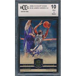 2009-10 Court Kings #145 James Harden AU RC (BCCG 10)