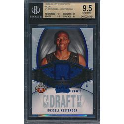 2008-09 Hot Prospects Blue #140 Russell Westbrook (BGS 9.5)