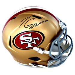 Jimmy Garoppolo Signed 49ers Full-Size Speed Helmet (TriStar)