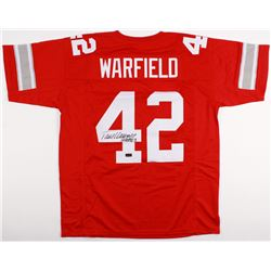 "Paul Warfield Signed Ohio State Buckeyes Jersey Inscribed ""HOF 83"" (Radtke COA)"