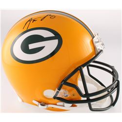 Aaron Rodgers Signed Packers Full-Size Authentic On-Field Helmet (Steiner Hologram)