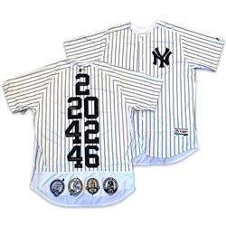 "Derek Jeter, Mariano Rivera, Andy Pettitte  Jorge Posada Signed LE Yankees ""Core Four"" Majestic Auth"