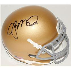 Joe Montana Signed Notre Dame Fighting Irish Mini Helmet (Radtke COA)
