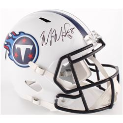 Marcus Mariota Signed Titans Full-Size Speed Helmet (Mariota Hologram)