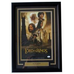 "Sean Astin Signed ""The Lord of the Rings"" 18x27 Custom Framed Photo Display (JSA COA)"