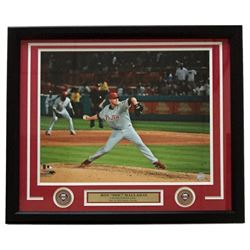 Roy Halladay Phillies 22x27 Custom Framed Photo Display