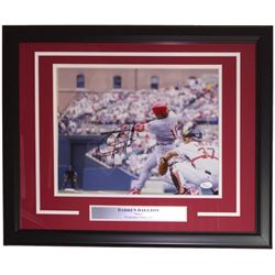 Darren Daulton Signed 16x20 Custom Framed Photo Display (JSA COA)