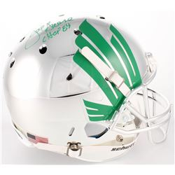 Joe Greene Signed North Texas Mean Green Full-Size Helmet (Radtke COA)