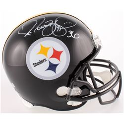 Jerome Bettis Signed Steelers Full-Size Helmet (Radtke COA)