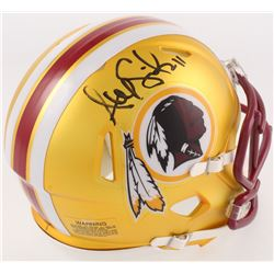 Alex Smith Signed Redskins Blaze Mini Helmet (Radtke COA)