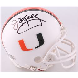 Jim Kelly Signed Miami Hurricanes Mini-Helmet (JSA COA)