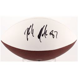 Rob Gronkowski Signed Patriots Logo Football (Radtke COA)