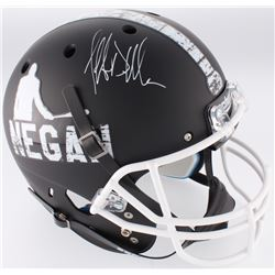 "Jeffrey Dean Morgan Signed ""The Walking Dead"" Custom Matte Black Full-Size Helmet (Radtke COA)"