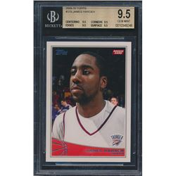2009-10 Topps #319 James Harden RC (BGS 9.5)