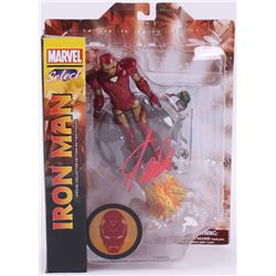 "Stan Lee Signed ""Iron Man"" Marvel Select Action Figure (Radtke COA  Lee Hologram)"