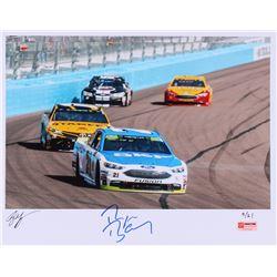 Ryan Blaney Signed Limited Edition NASCAR 11x14 Photo #/21 (PA COA)