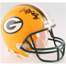 Wesley Walls Signed Packers Mini-Helmet (Radtke COA)