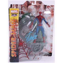 """Stan Lee Signed """"Spider-Man"""" Marvel Select Action Figure (Lee Hologram  Radtke COA)"""