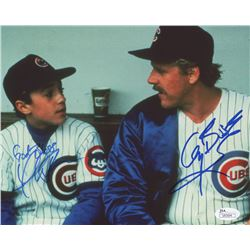 """Thomas Ian Nicholas  Gary Busey Signed """"Rookie of the Year"""" 8x10 Photo Inscribed """"God Bless"""" (JSA CO"""