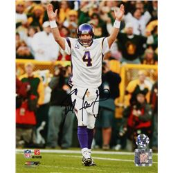 Brett Favre Signed Vikings 8x10 Photo (Radtke COA)