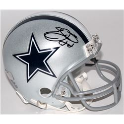 Emmitt Smith Signed Cowboys Mini Helmet (Radtke COA  Prova Hologram)