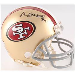 Wesley Walls Signed 49ers Mini-Helmet (Radtke COA)