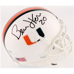 Bernie Kosar Signed Miami Hurricanes Mini-Helmet (Radtke Hologram)