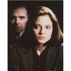 """Jodie Foster Signed """"Silence of the Lambs"""" 8x10 Photo (JSA COA)"""