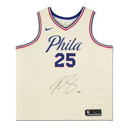 Ben Simmons Signed 76ers City Edition Jersey (UDA COA)