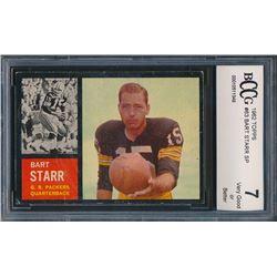 1962 Topps #63 Bart Starr SP (BCCG 7)