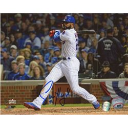 Jason Heyward Signed Cubs 8x10 Photo (Schwartz COA  LOJO Sports Hologram)