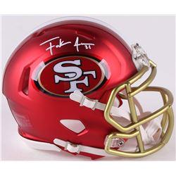 Frank Gore Signed 49ers Mini Blaze Speed Helmet (Radtke COA)