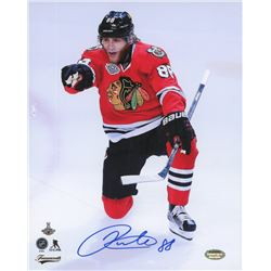 Patrick Kane Signed Blackhawks 8x10 (Schwartz COA)