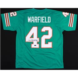 "Paul Warfield Signed Dolphins Jersey Inscribed ""HOF 83"" (Radtke COA)"