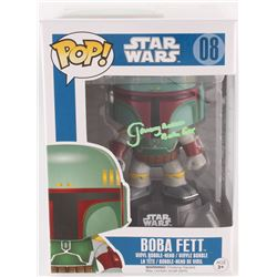 "Jeremy Bulloch Signed ""Boba Fett"" #08 Star Wars Funko Pop Vinyl Bobble-Head Figure Inscribed ""Boba F"