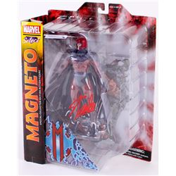 """Stan Lee Signed """"Magneto"""" Marvel Select Action Figure (Radtke COA  Lee Hologram)"""