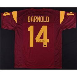 Sam Darnold Signed Trojans Jersey (Radtke COA)